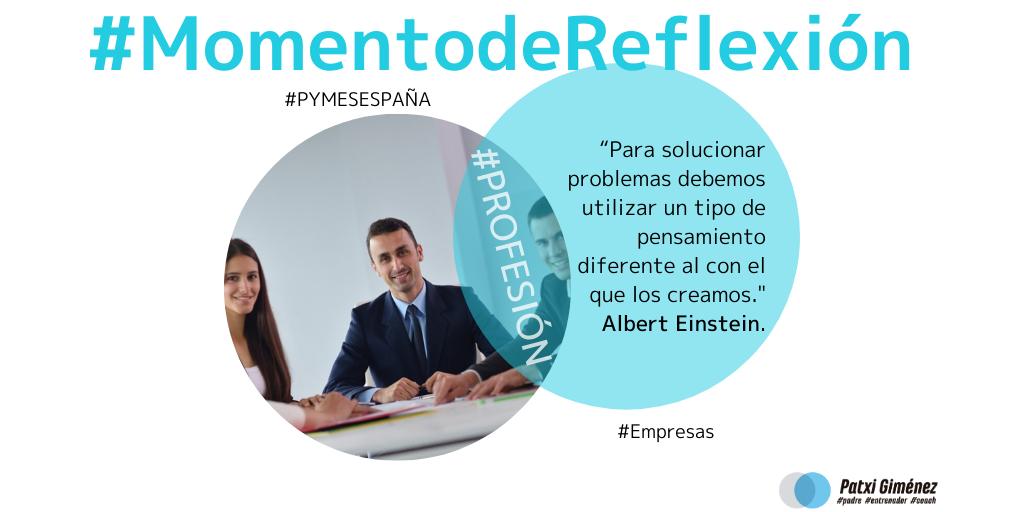 Momento de Reflexión. Empresas. Pymes España. Profesión.