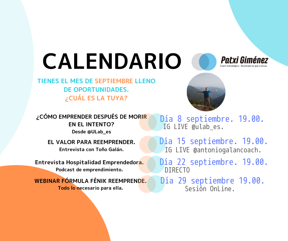 Calendario Patxi Giménez