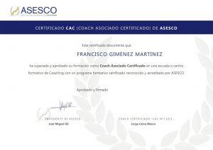 Coach Asociado ASESCO