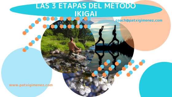 Las 3 etapas del método IKIGAI